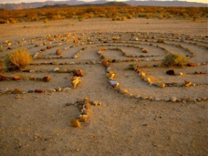 As you walk the labyrinth of your life following y